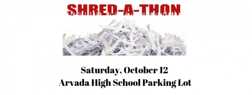 Promotional Image for Arvada Pd Shred A Thon Set For October 10